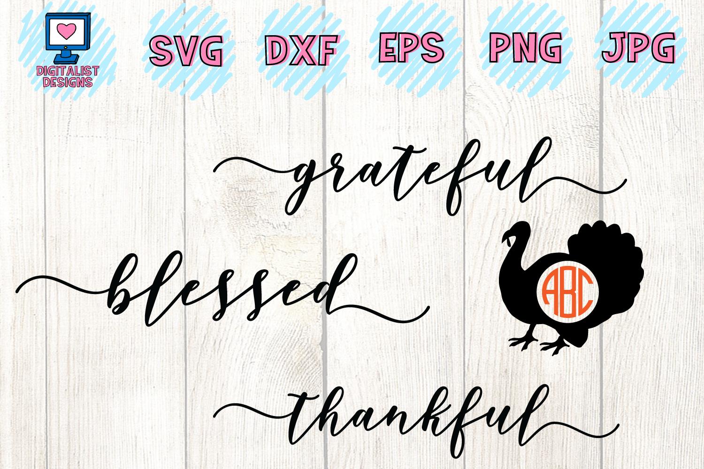 Thanksgiving SVG Bundle | 30 Designs example image 4