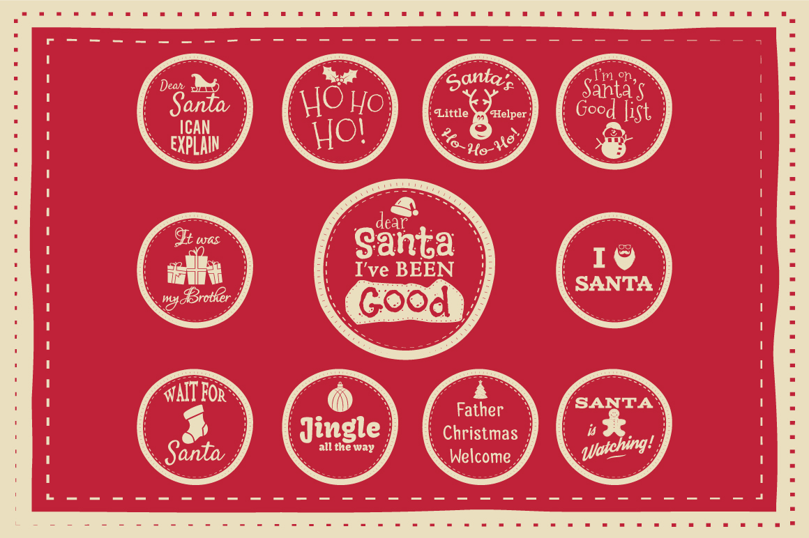 Christmas Bundle | Holiday Svg Crafters, cut files, svg png example image 7