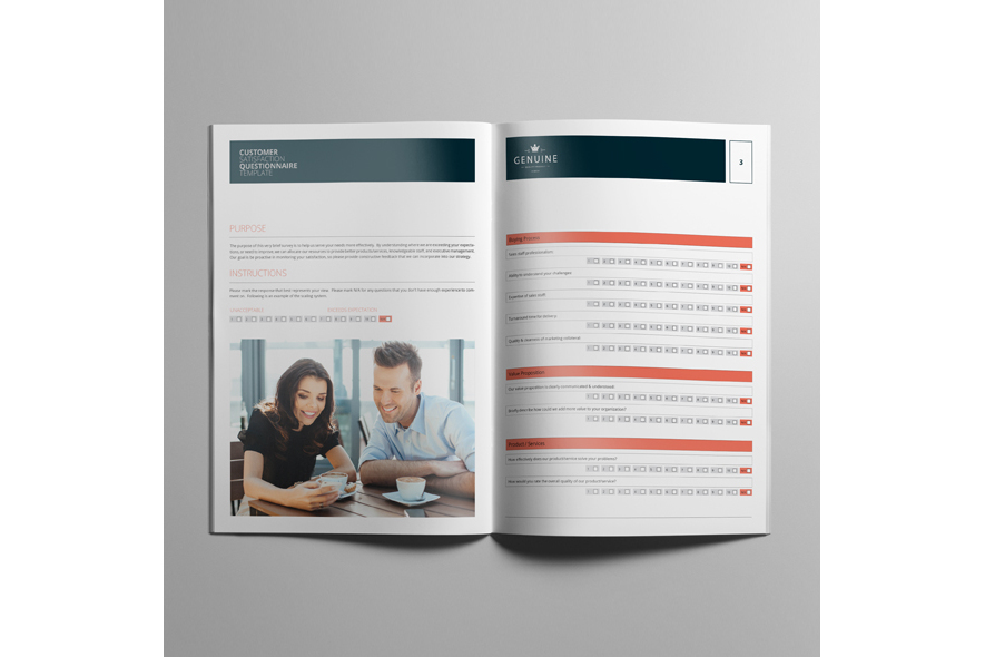 Customer Satisfaction Questionnaire Template example image 5