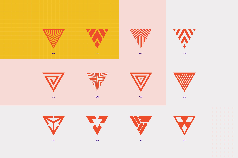 96 Geometric shapes & logo marks VOL.2 example image 15