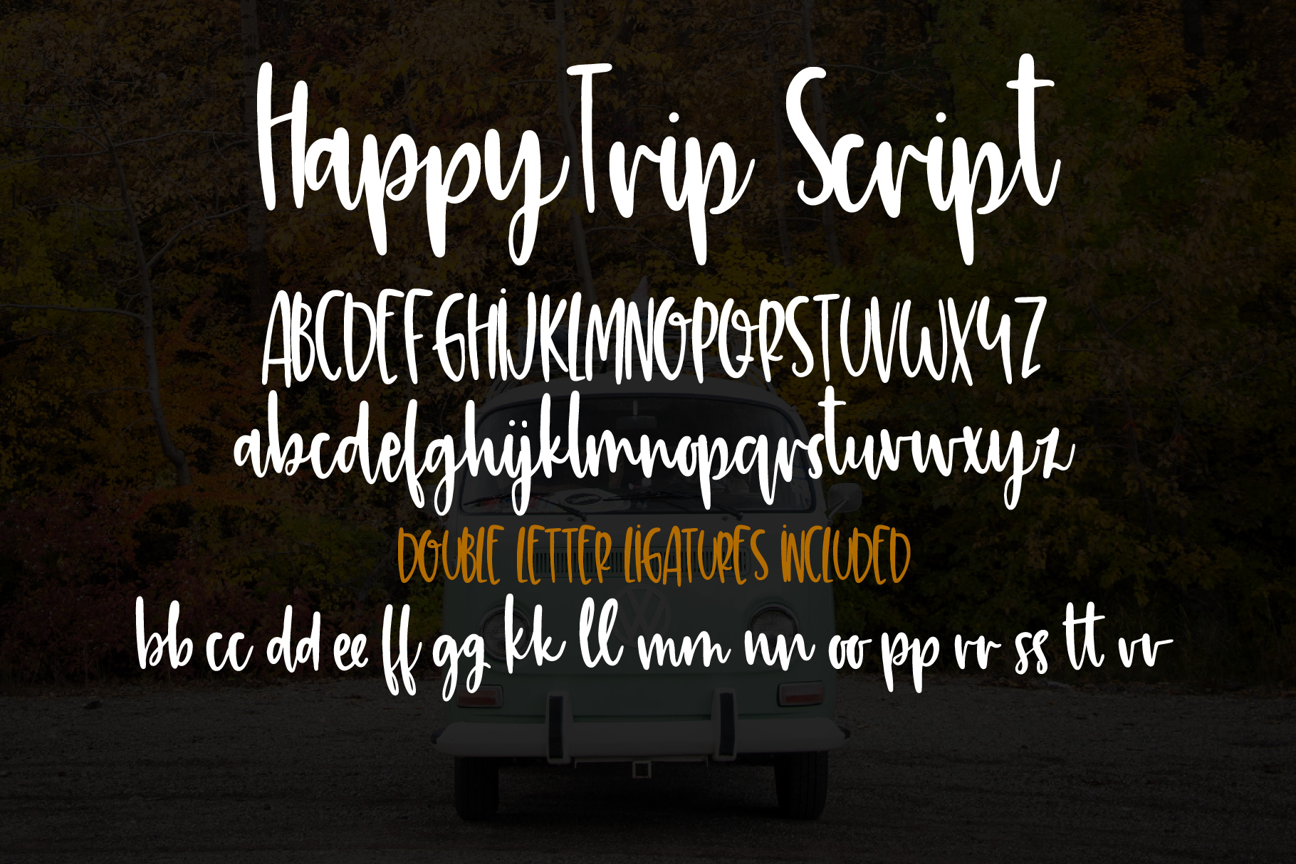 HappyTrip Font Duo example image 5
