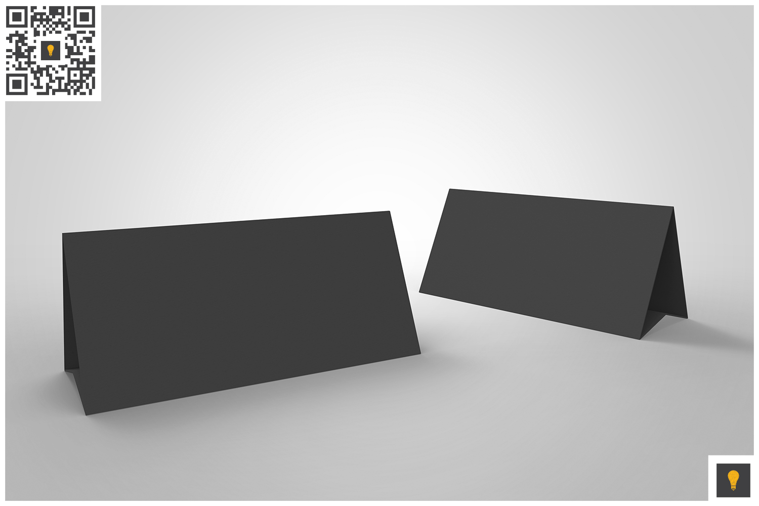 Table Tent 3D Render example image 6