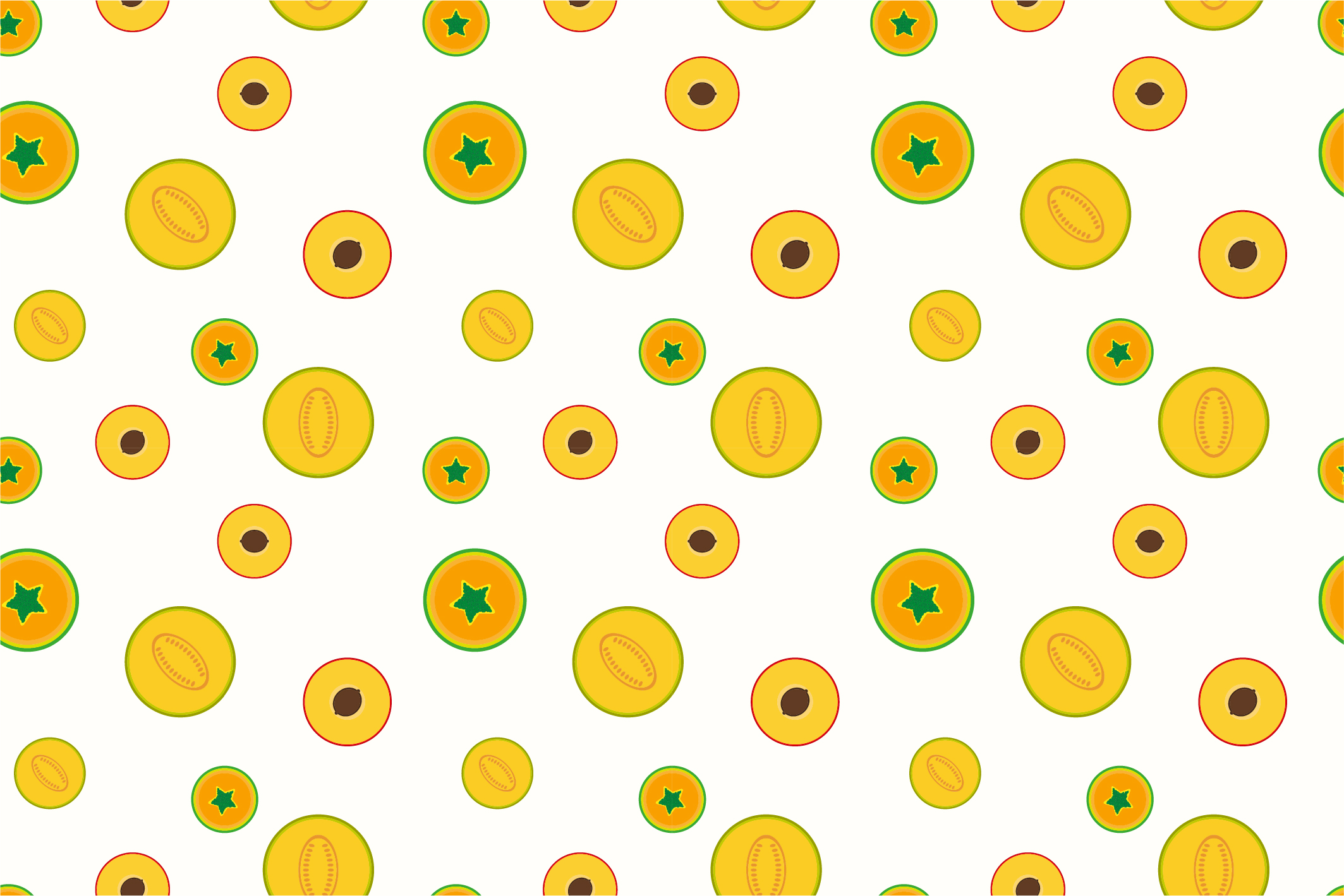Fruit seamless patterns. Swatches. example image 5