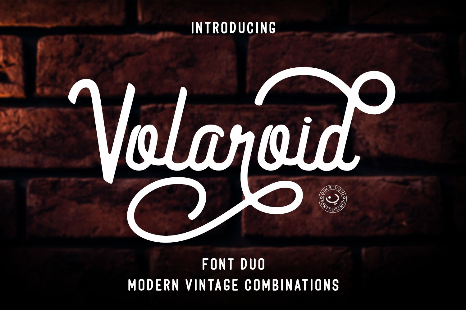 Volaroid Font Duo example image 1