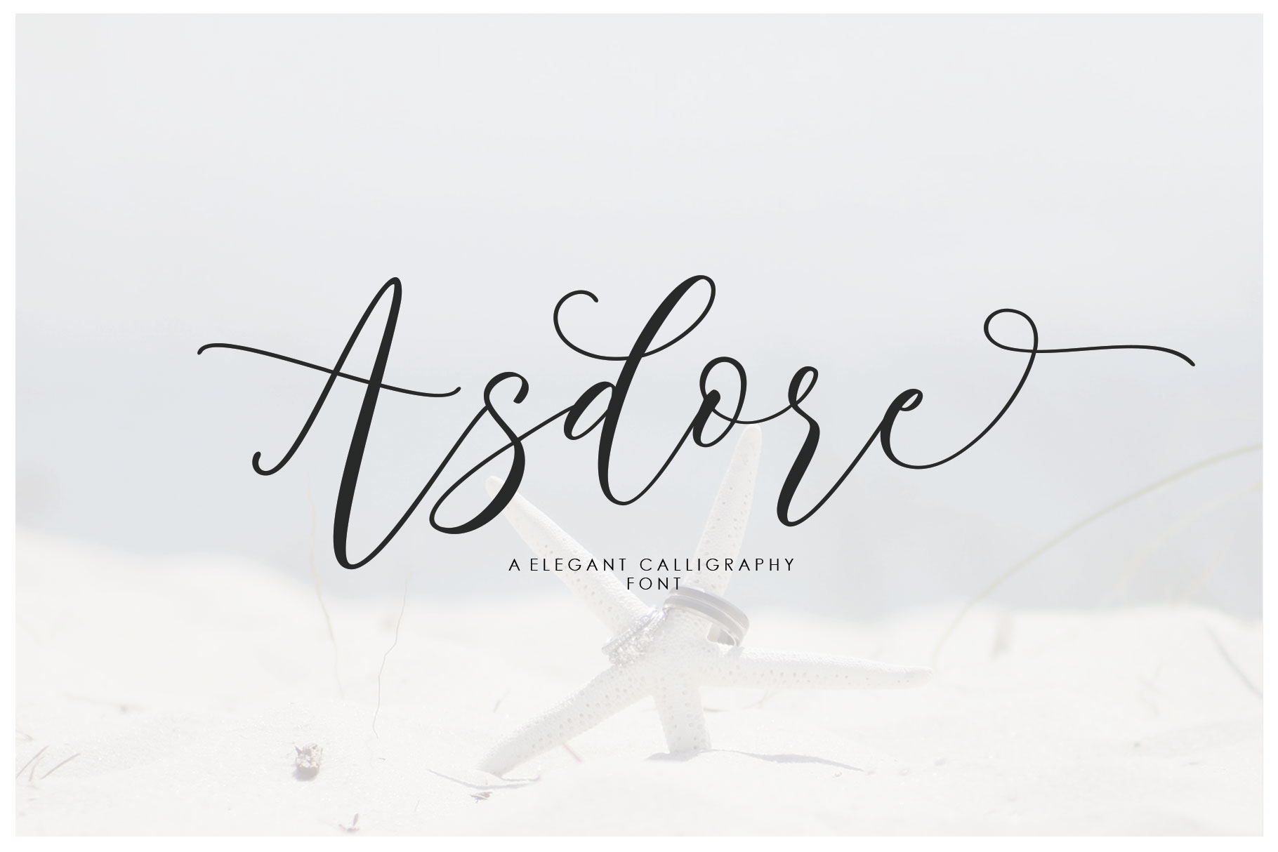 Asdore Script example image 1