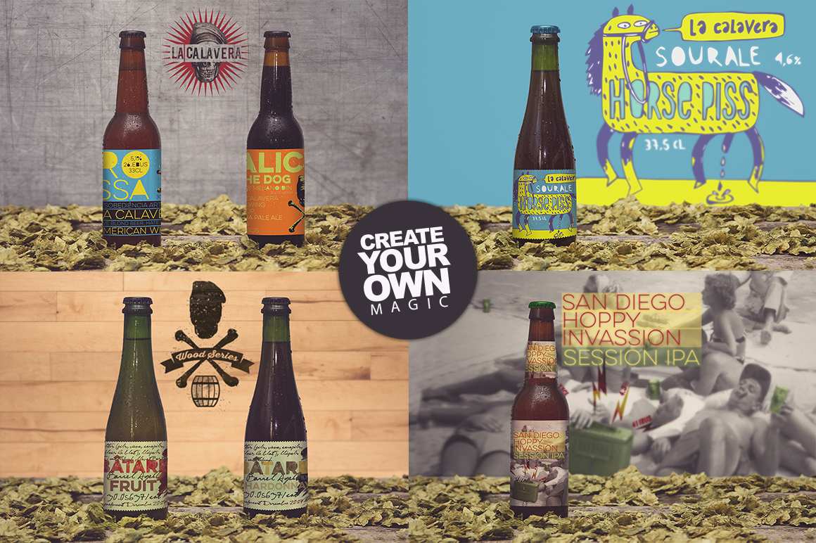 50 Beer Mockups Bundle 85 OFF example image 9