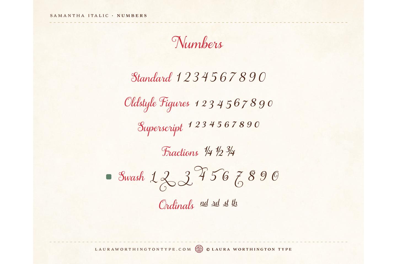 Samantha Script Italic Bold example image 6