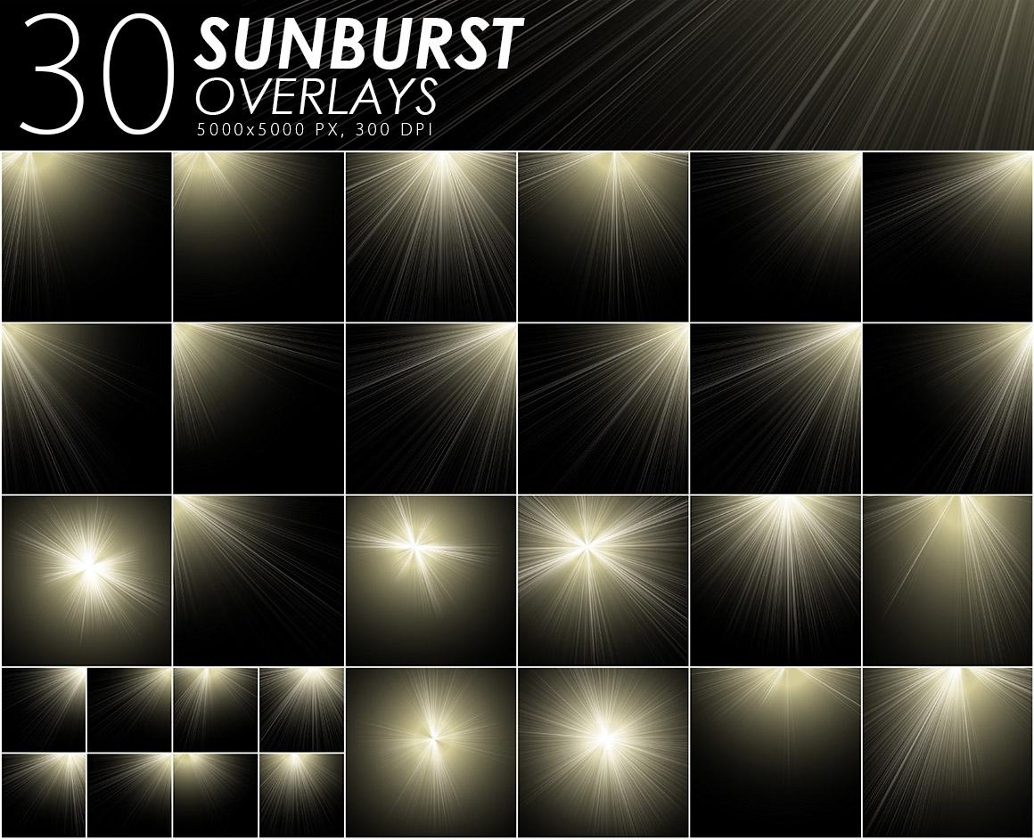 405 Light Rays, Leak, Flare Overlays example image 6