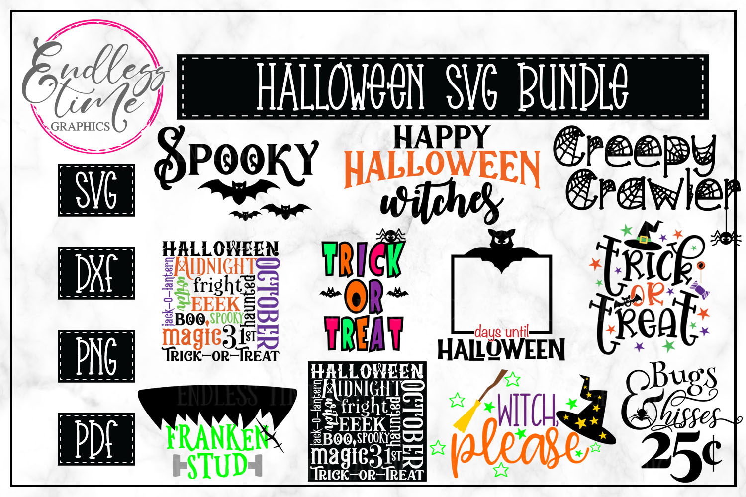 The Ridiculously Huge Bundle SALE - A Massive SVG Collection example image 13
