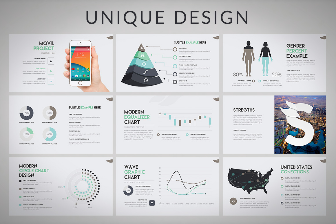 Wava Powerpoint Template example image 3