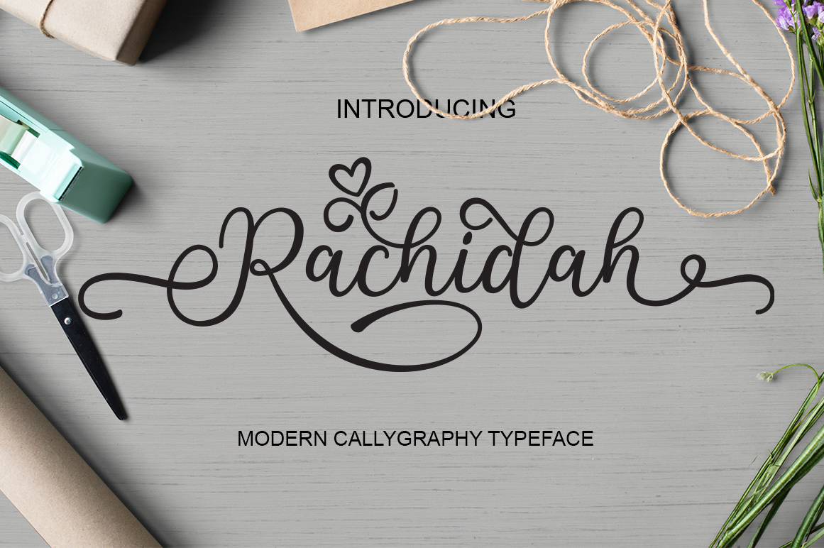 Rachidah Script example image 1