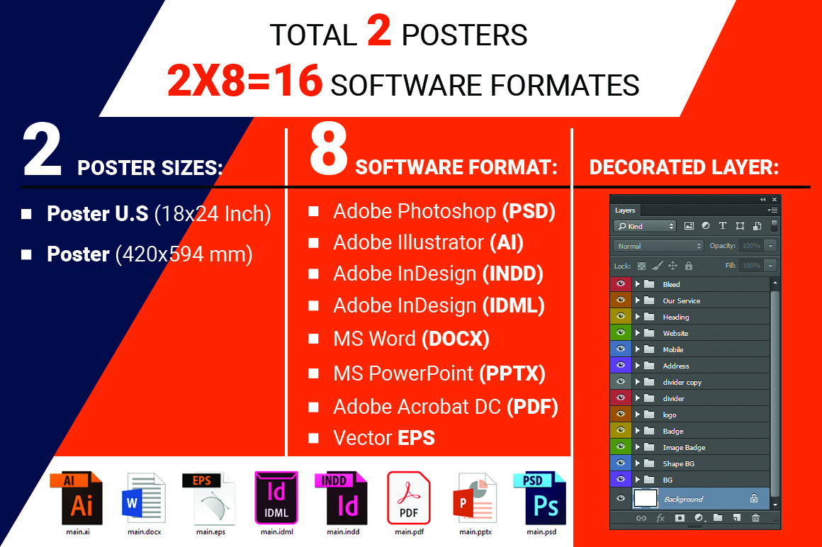 Poster | Mobile App Promotion Vol-01 example image 2