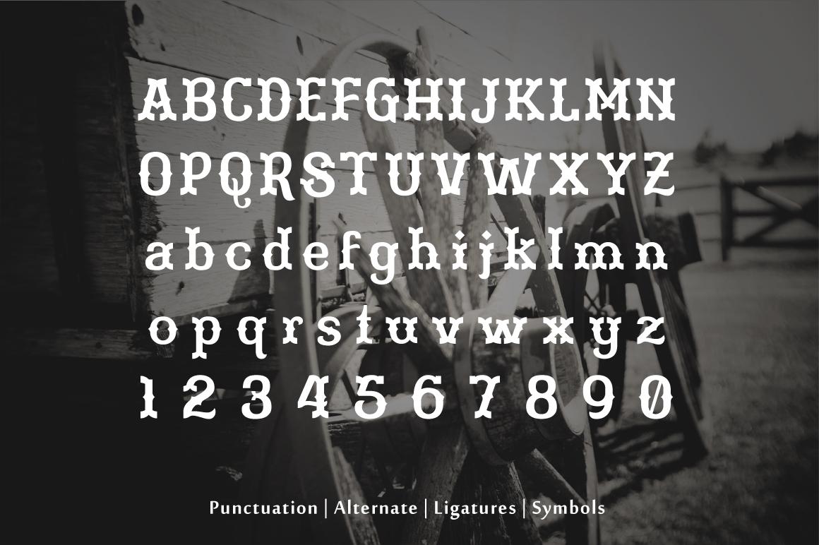 Martinez Typeface example image 7