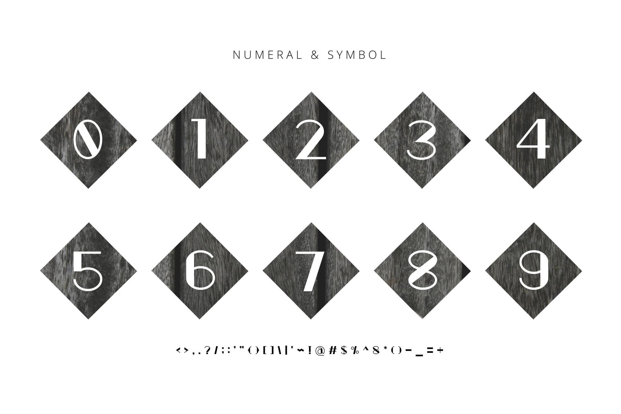 Zeky Typeface Font example image 5