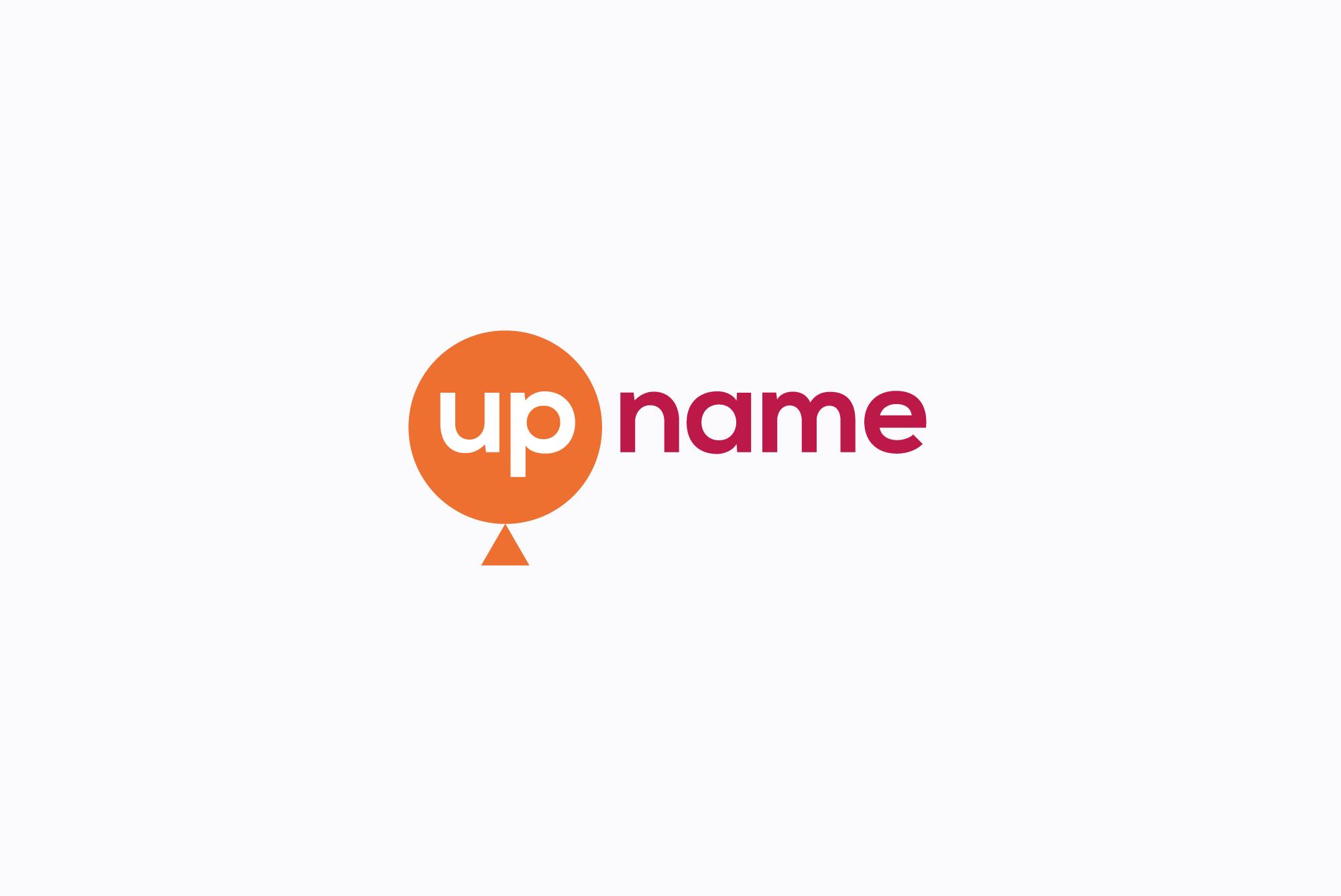 UP name logo example image 1