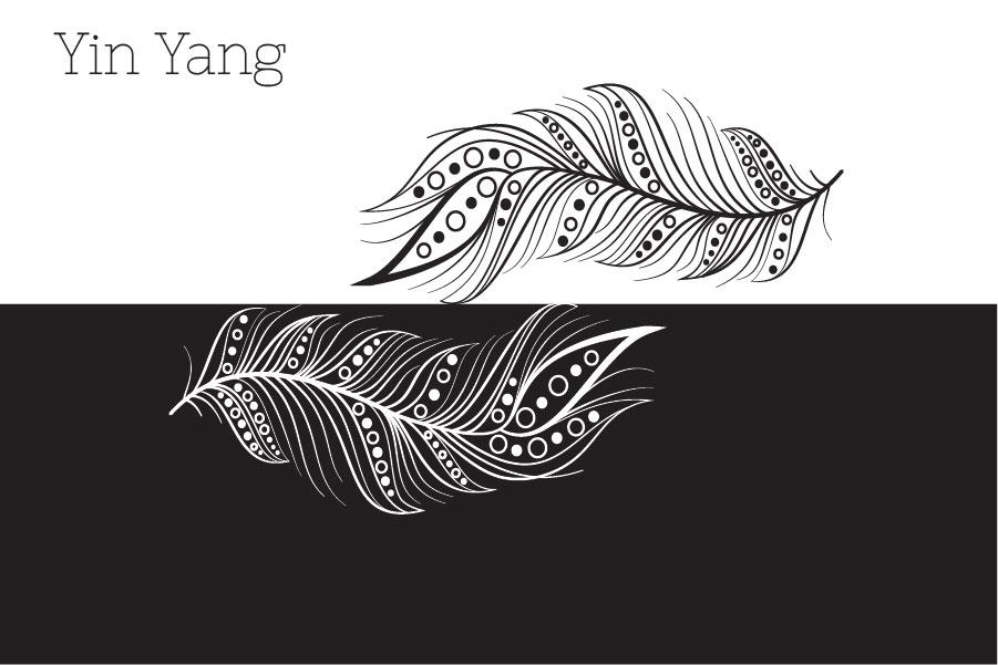 Zenart Boho Feathers Set example image 3