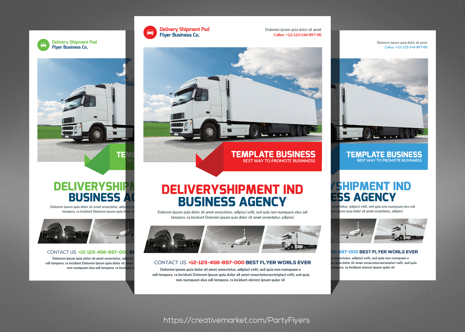 Delivery Shipment Flyer example image 1
