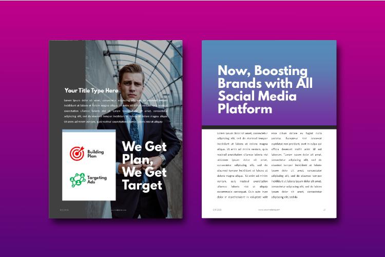 Social Media Tips & Marketing eBook Template example image 8
