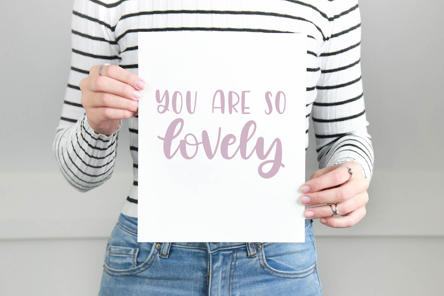 Lovely Letters Handwritten Font Duo, Script Font example image 2