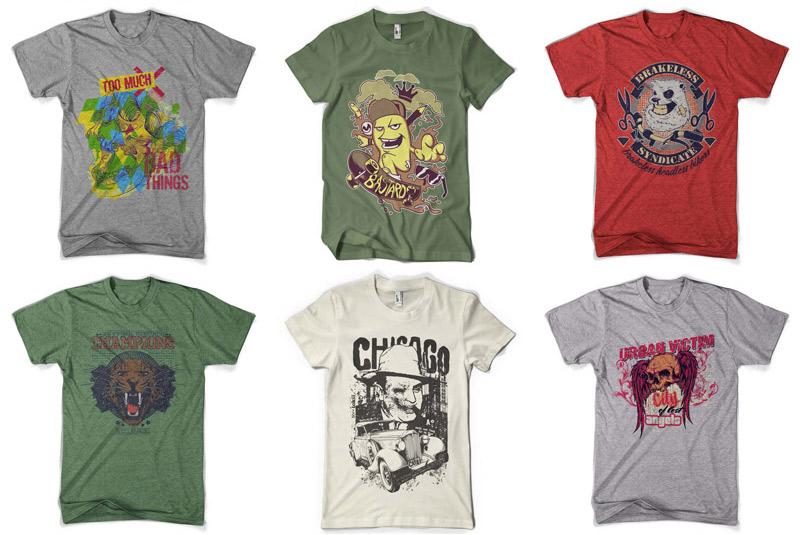 100 Premium T-shirt Designs example image 3