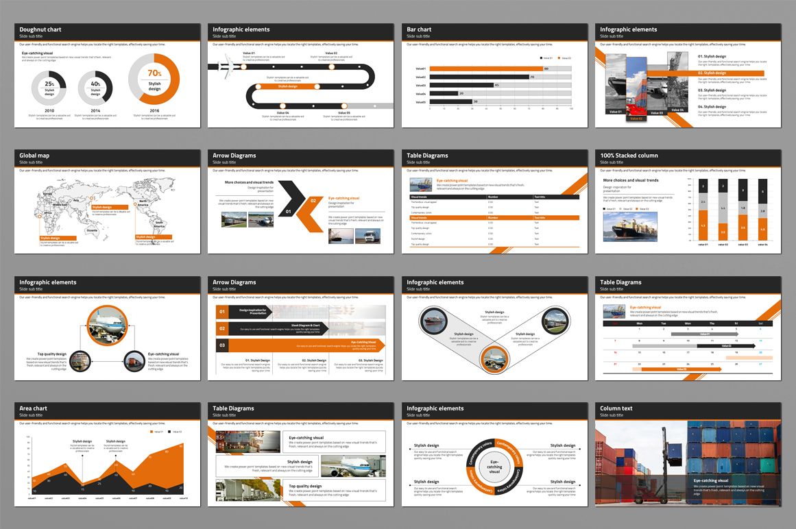 Trade Powerpoint Template example image 2