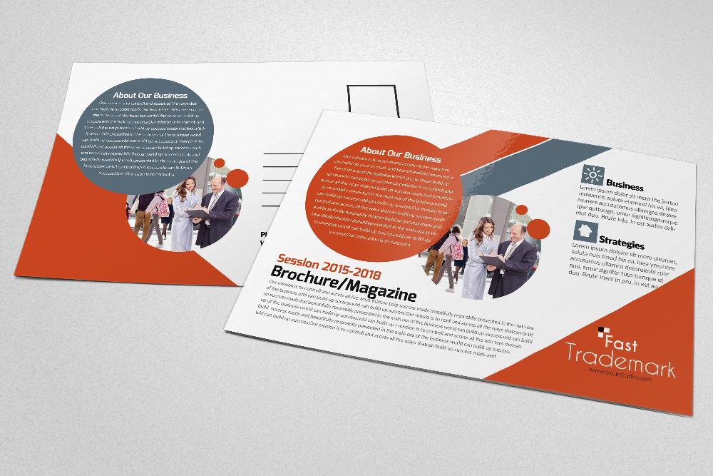 Latest  Business Postcards Templates example image 4
