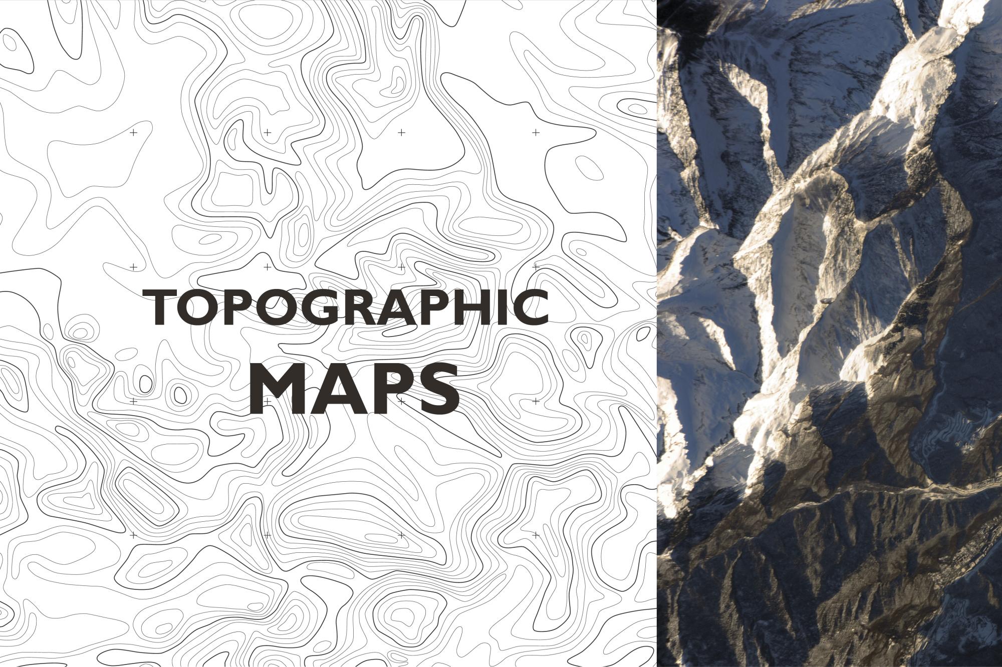 Topographic maps example image 1