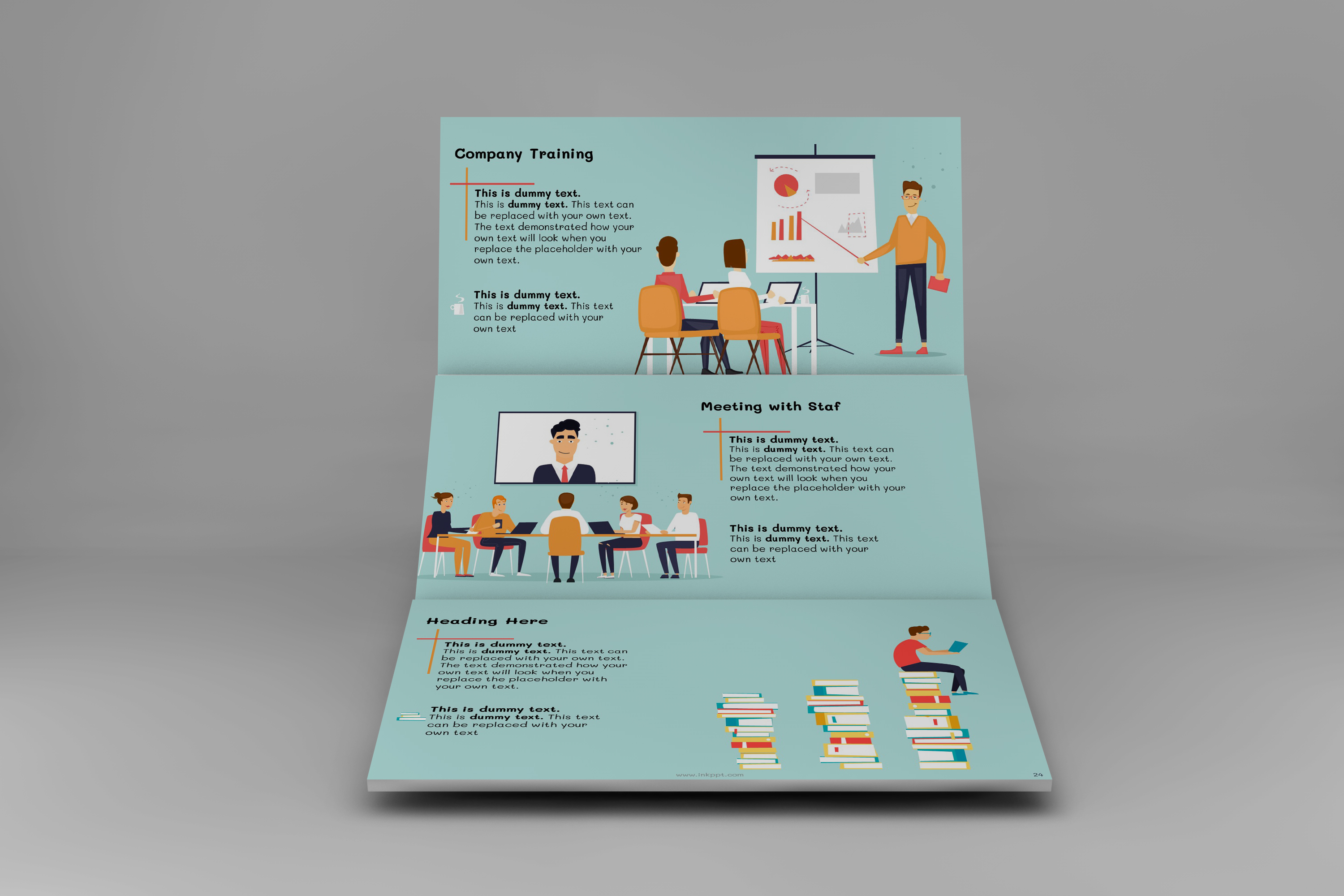Corporate Functions PowerPoint Template example image 4
