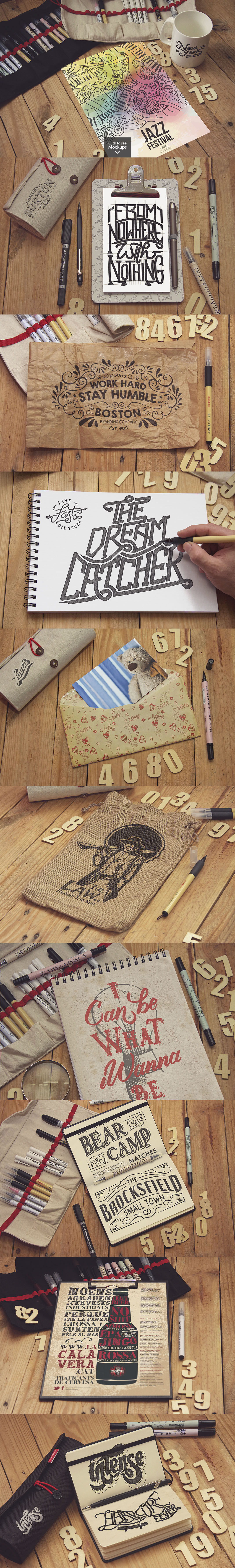 40 Sketch Mockups Bundle -60 example image 2