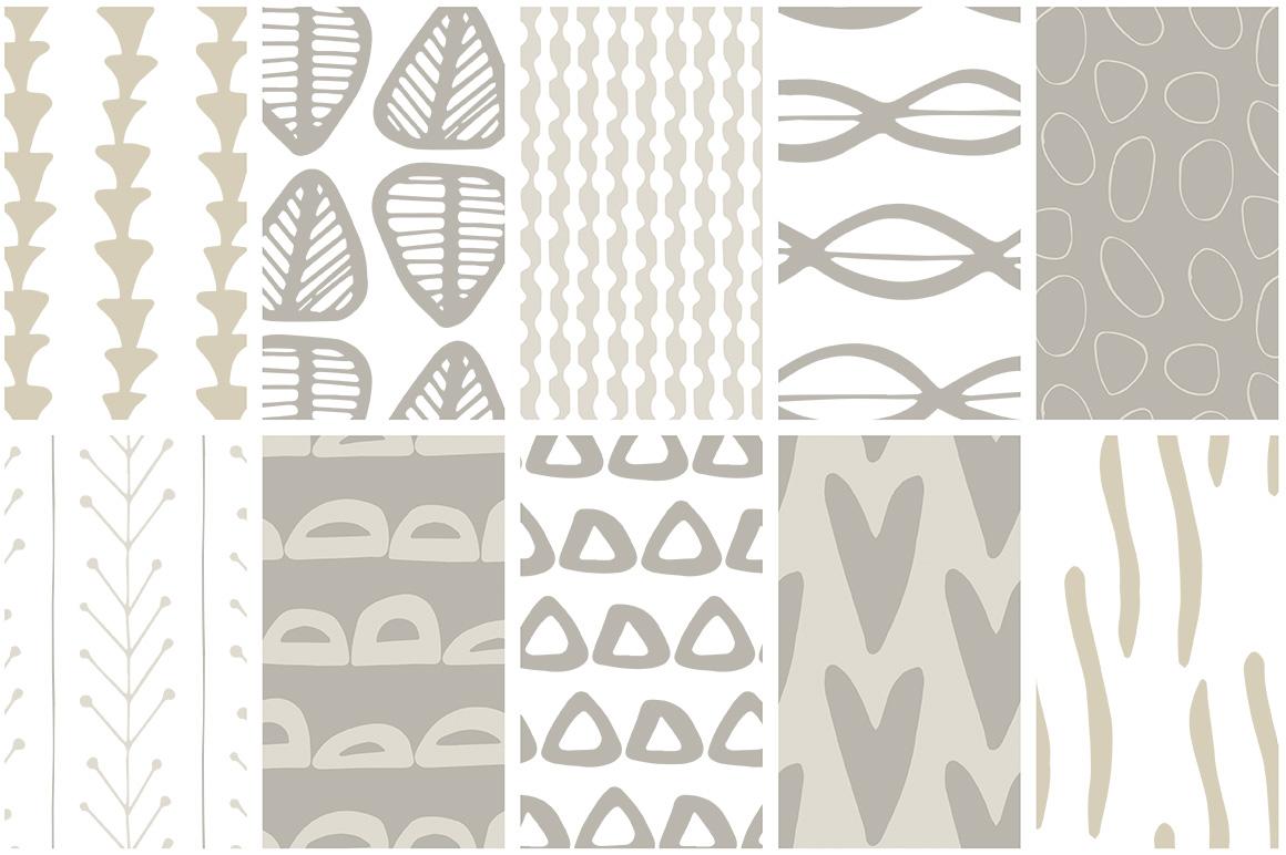 Scandinavian Patterns set of 40 example image 4