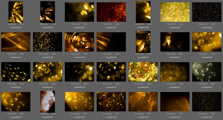 100 Gold Bokeh Photo Overlays example image 4
