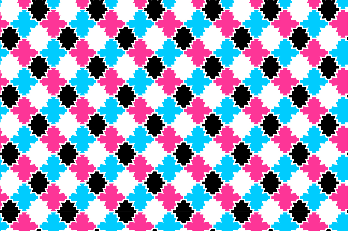 Colorful ornamental patterns. example image 9