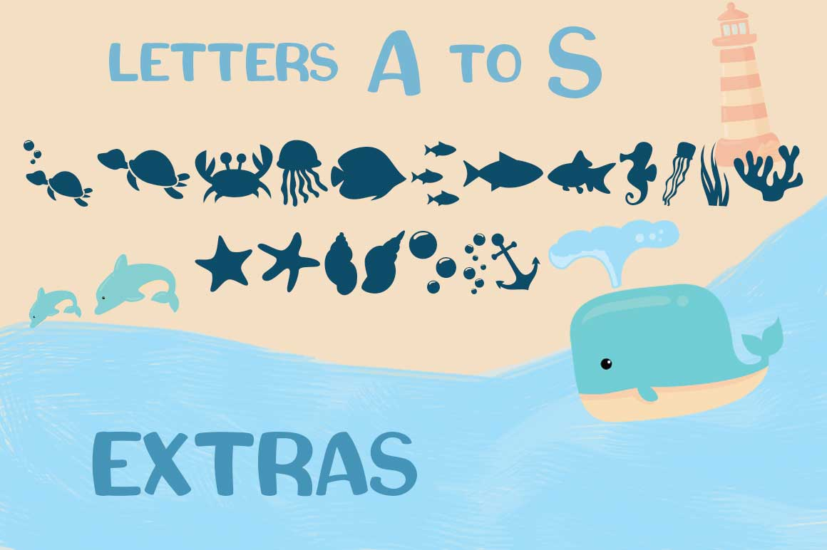 Squishy - A Beach Craft Font example image 3