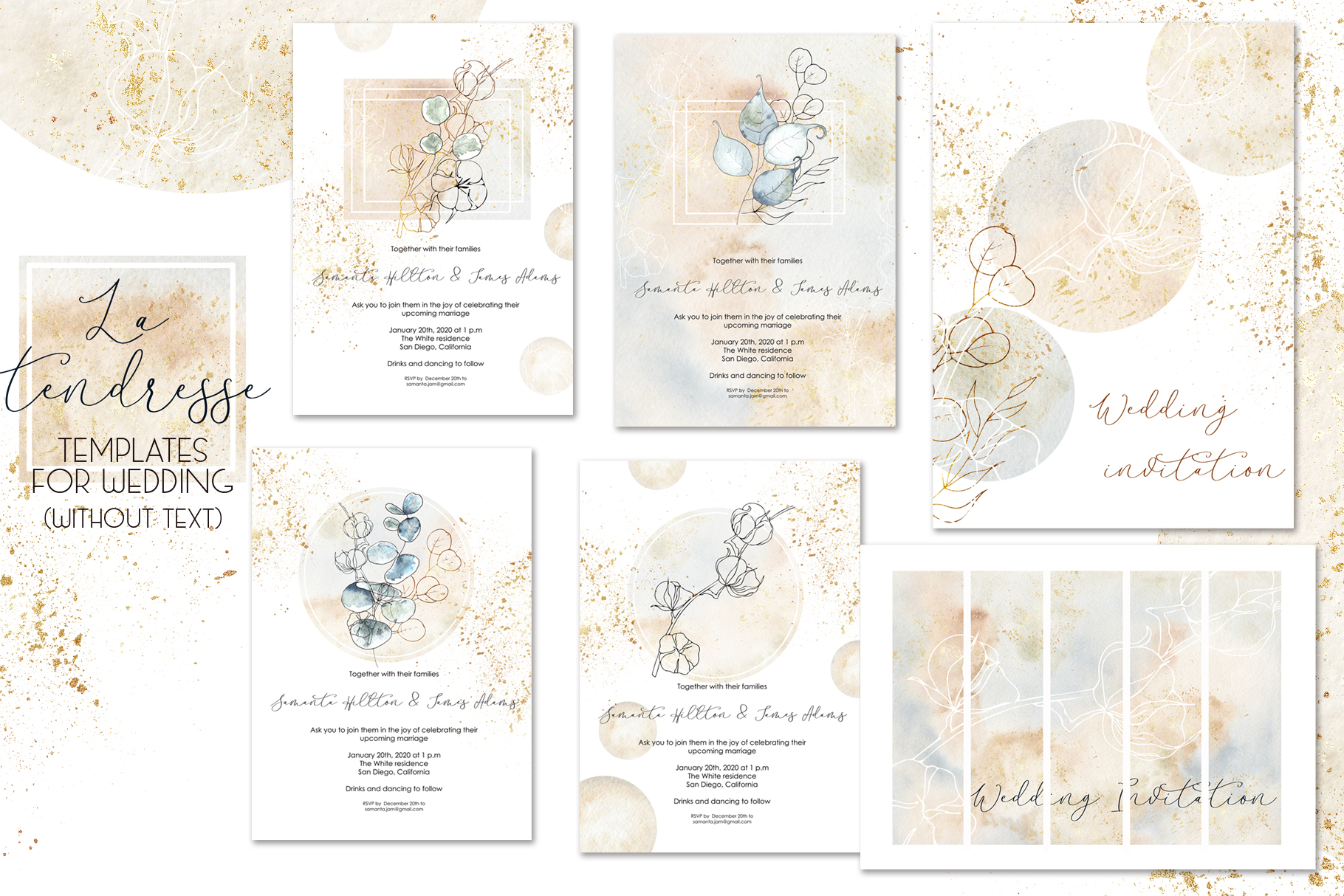 Winter wedding collection example image 14