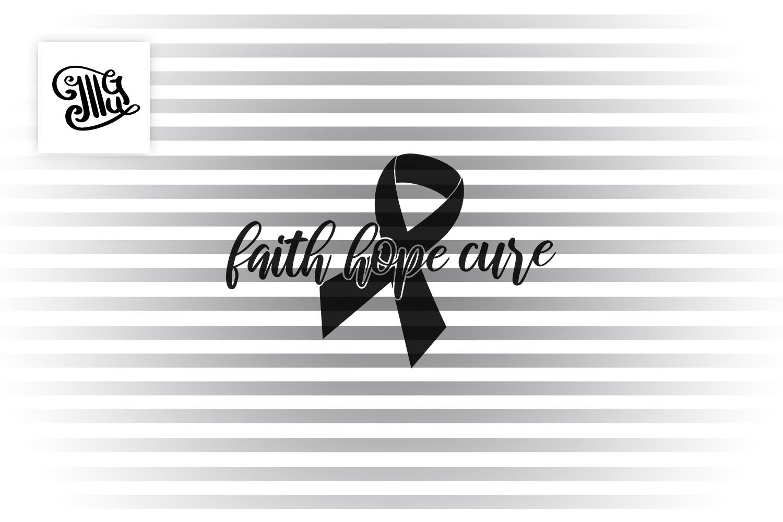 Faith hope cure example image 2