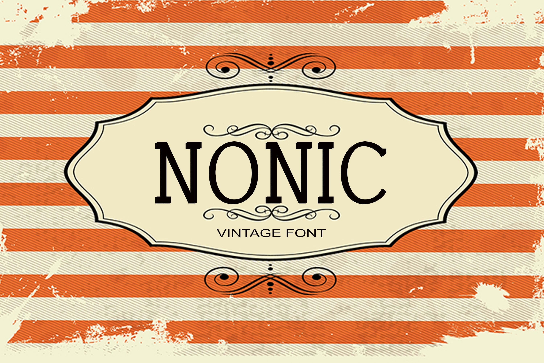 150 Premium Vintage Fonts example image 12