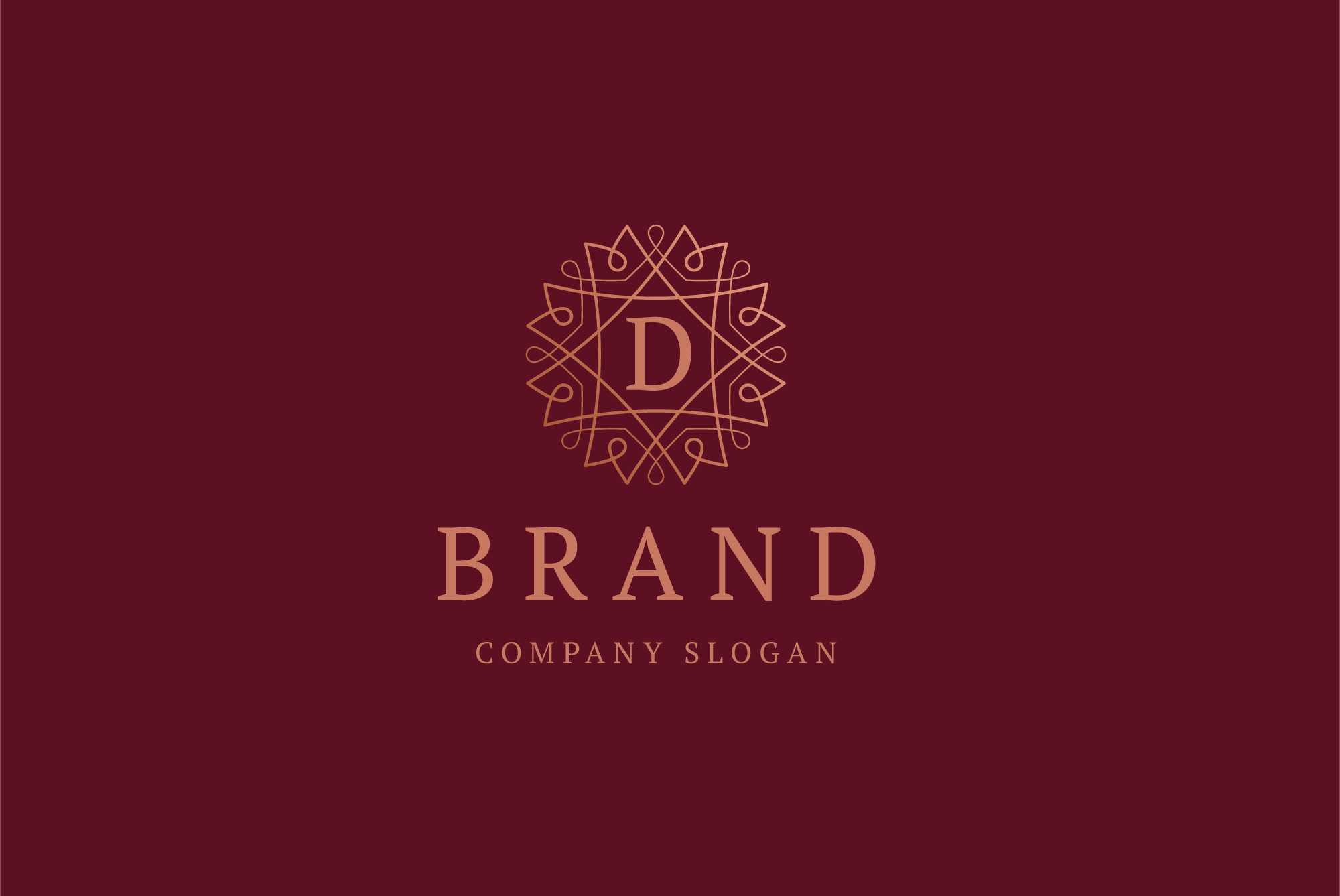D brand logo example image 2
