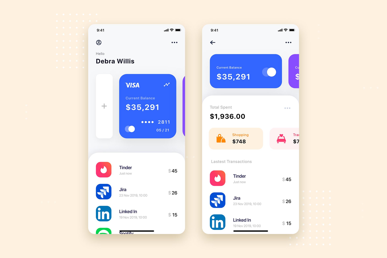 Curium - Financial UI Kit example image 12