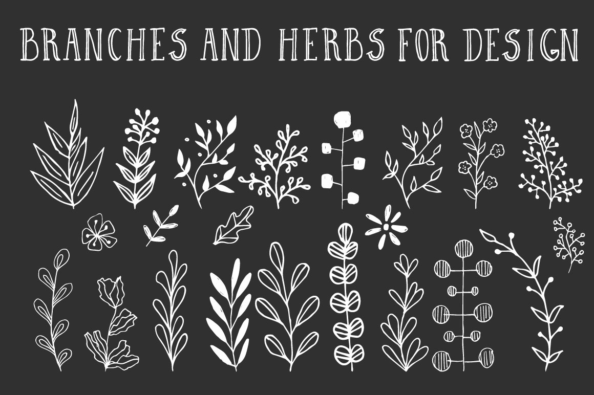 Wreaths and branches vol.2 example image 6