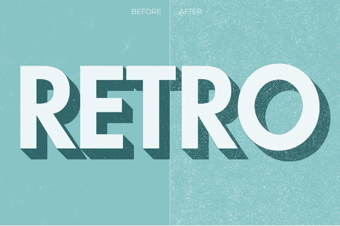 Grunge Texture Overlays example image 9