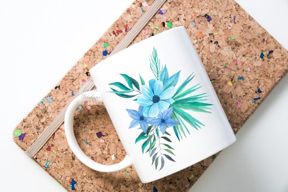 Mug mockup modern flatlay sublimation 11oz cup mock up example image 4