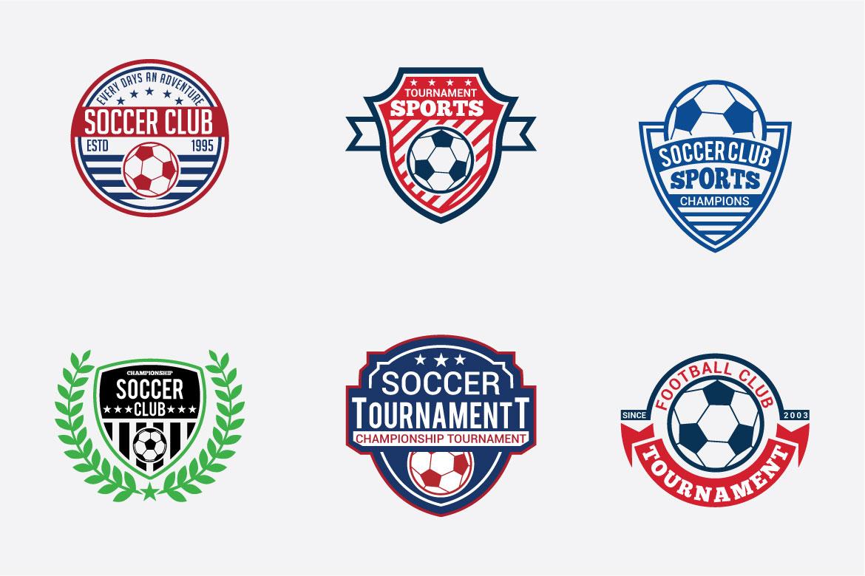 66 SPORTS Logo Templates BUNDLE example image 5