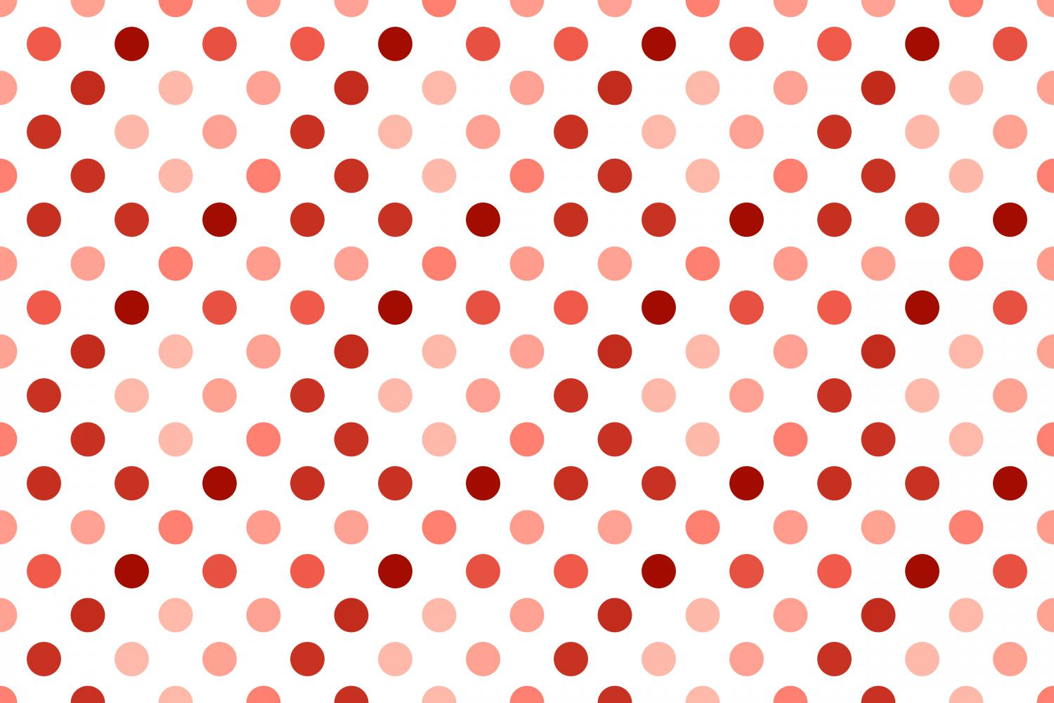24 Seamless Red Dot Patterns example image 8