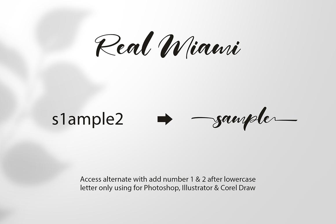 Real Miami Script example image 7