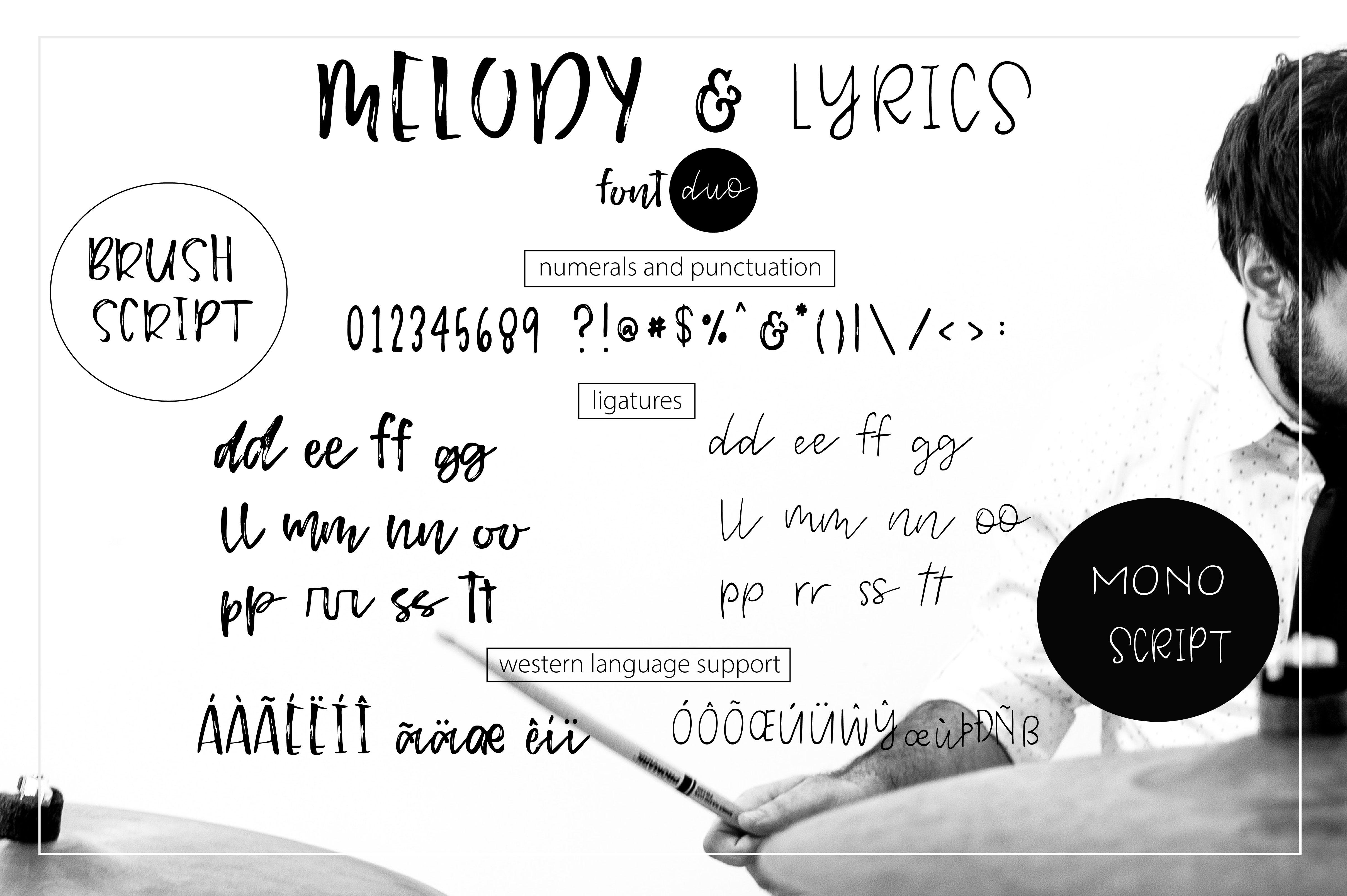 Melody & Lyrics example image 13