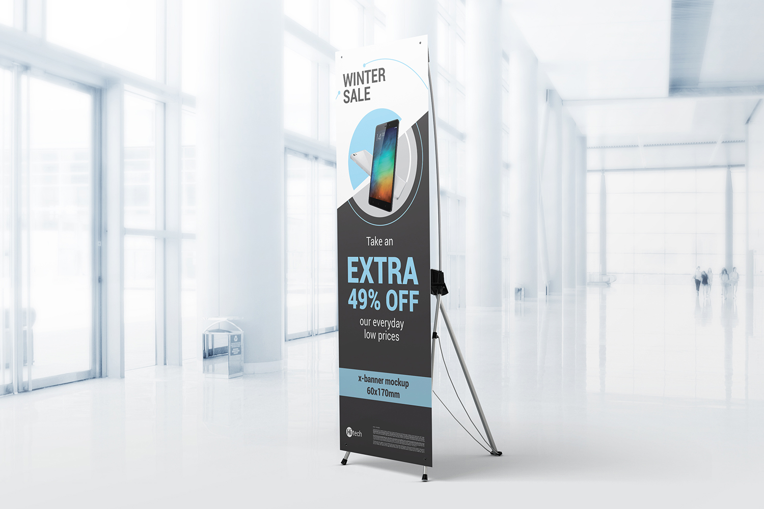 X-Stand Banner Mockups example image 1