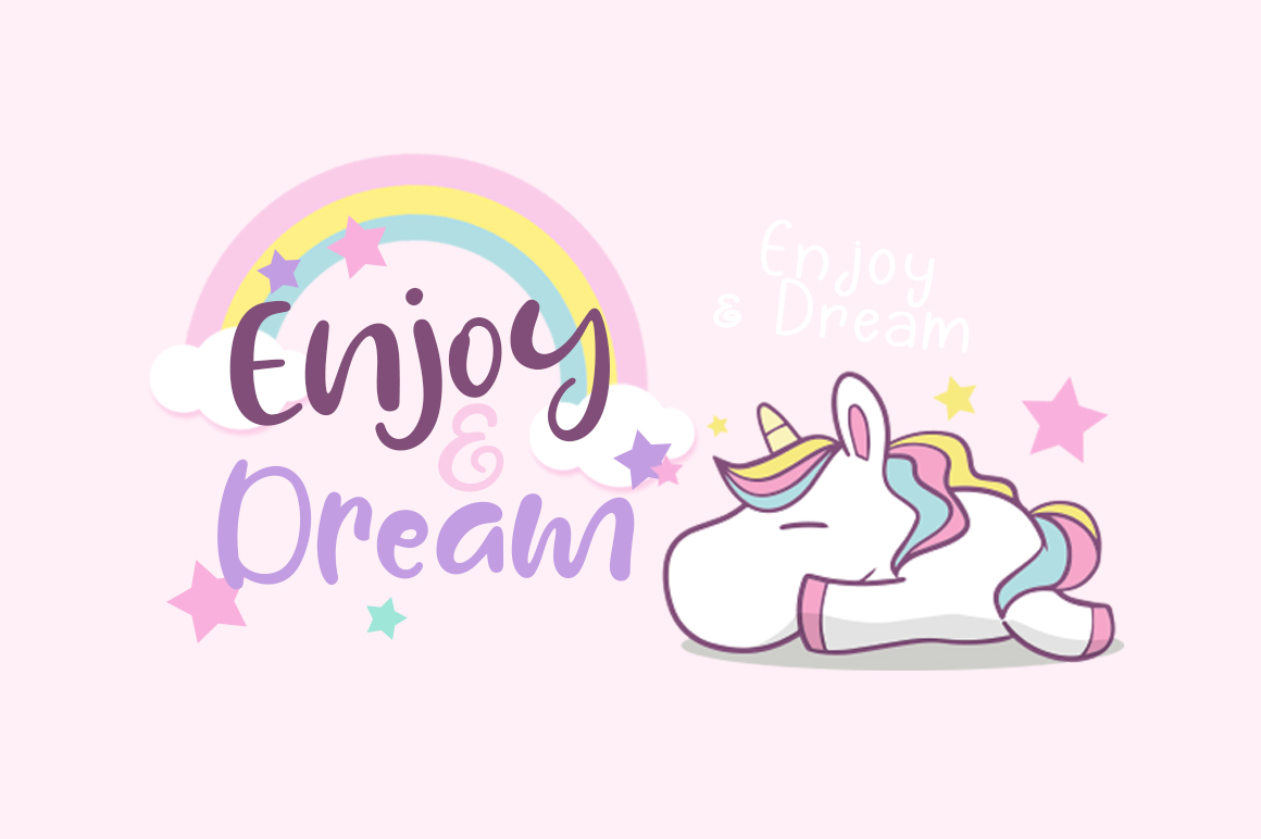 Lazy Unicorn example image 3