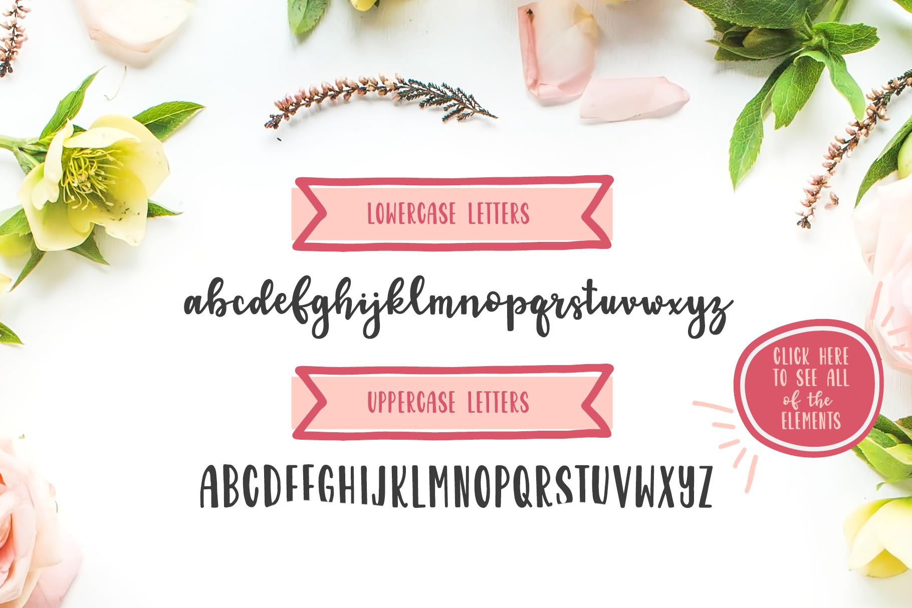 Garden Fancy Font Duo example image 2