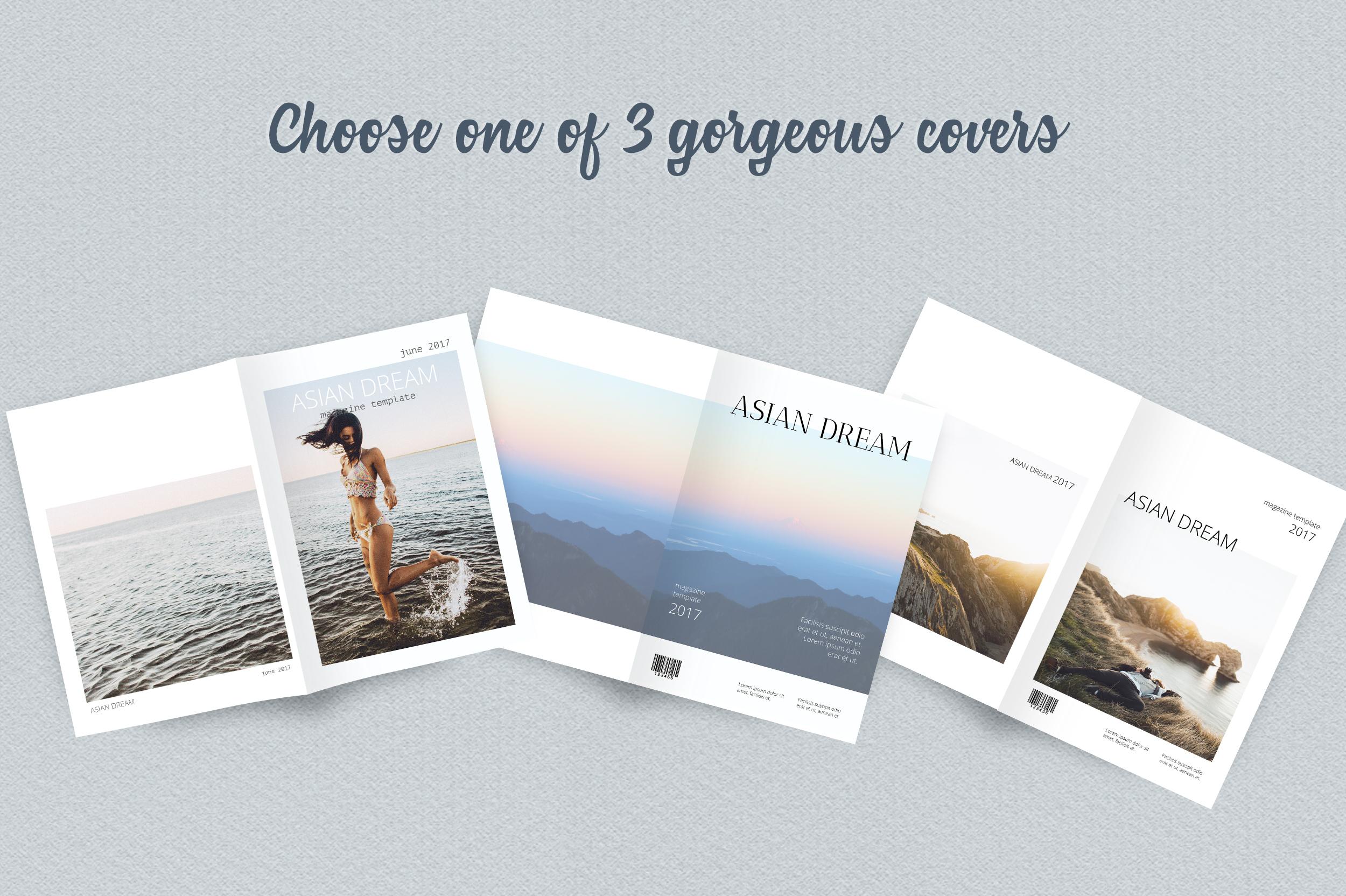 Asian Dream Magazine Template example image 4