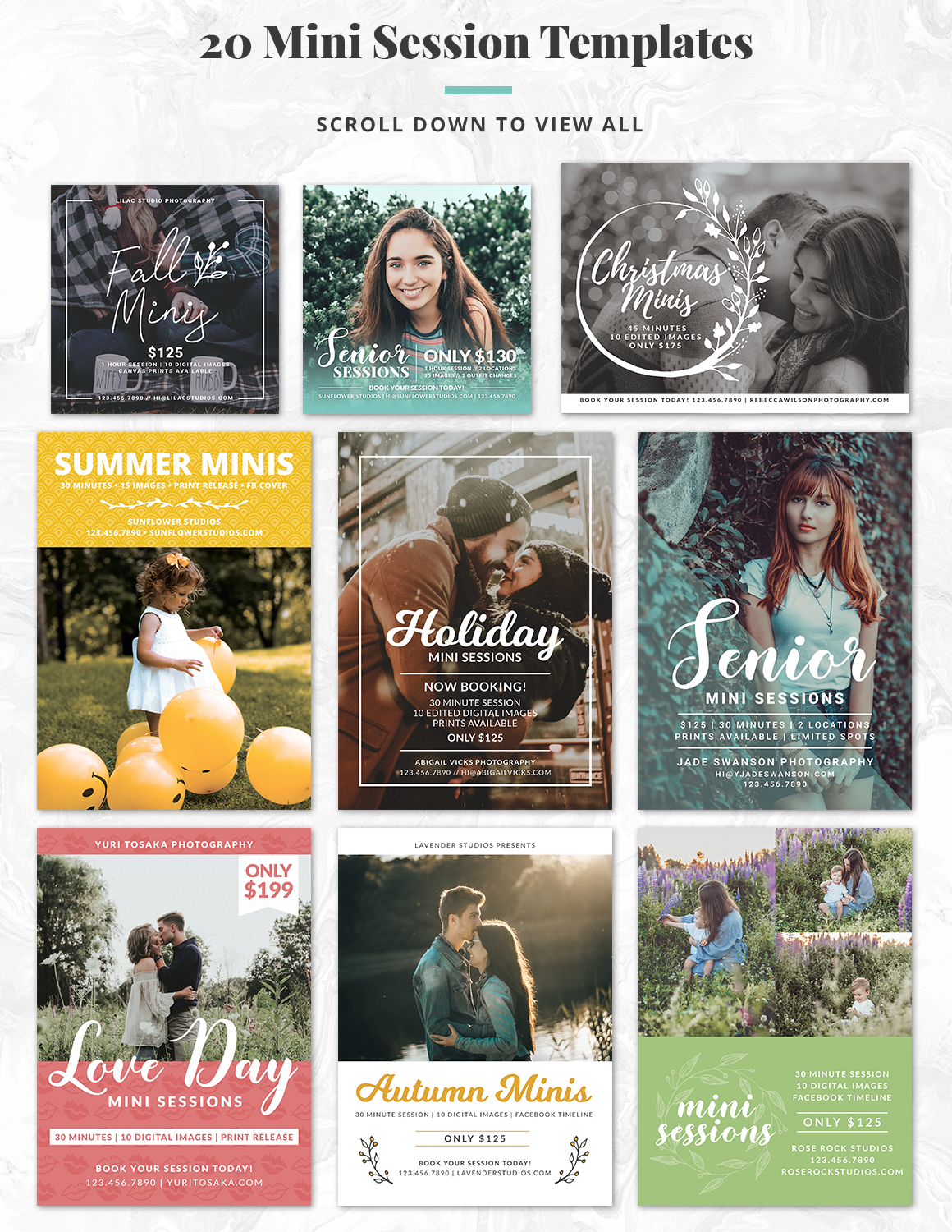 The Essential Photography Branding & Marketing Kit example image 15
